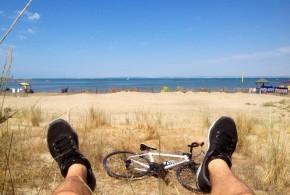 Rejoindre la mer en vélo : la vidéo