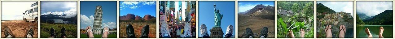 Le tour du monde de mes pieds – Blog voyage