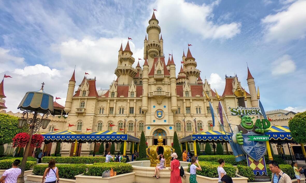 Château Shrek Universal Studios Singapore