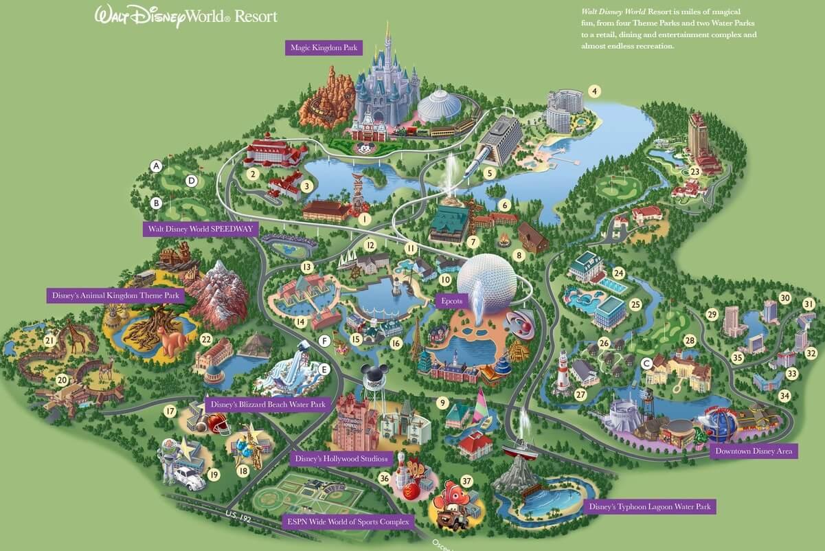 Calendrier Pass Disney.Sejour A Disney World Conseils Et Astuces Le Tour Du
